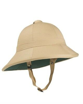 brit. Tropenhelm khaki (new Style), Helm, Outdoor, Camping       -NEU-