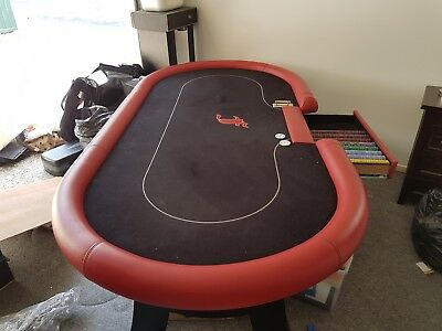 Custom Handmade POKER TABLE