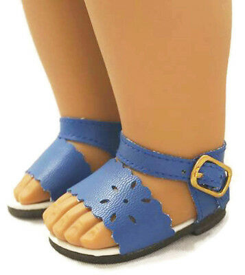 "SPECIAL SALE! For 18"" American Girl Dark Blue Summer Sandals Shoes"
