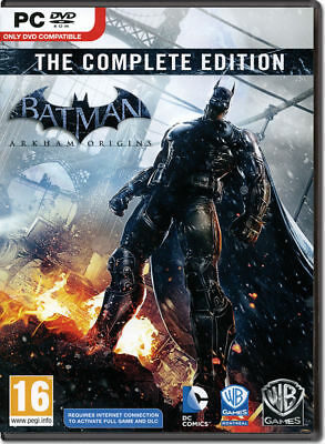 Batman: Arkham Origins Complete Pack (PC, 2013) Steam CD Key(s) [CHEAP]