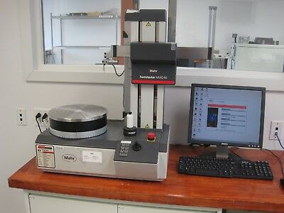 Mahr MMQ 40 Roundness Gage Formtester CNC Computer, Complete Tested