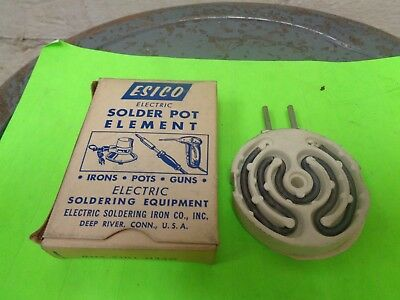 ESICO No.12 250 Watt 120VAC Solder Pot Element