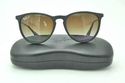 df5ae42f79 Ray Ban RB 4171 Erika Sunglasses 622 8G Rubber Black   Brown Gradient  Polarized