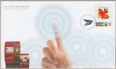 KIOSK = FDC / OFDC = 61c stamp LIMITED issue Canada 2012