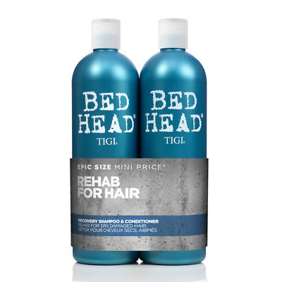 TIGI Bed Head Recovery Tweens Shampoo 750ml + Conditioner 750ml Doppelpack