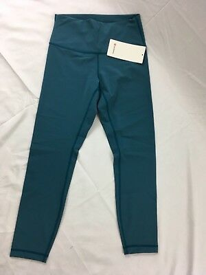 a670dbeb0 LULULEMON WOMEN S FAST Free 7 8 Tight II NULUX PCFT Size 6 -  82.99 ...