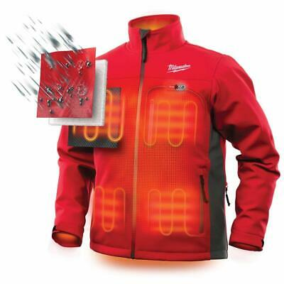 Milwaukee M12 Heated Jacket Black Grey Red to Choose