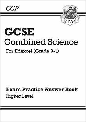 New GCSE Combined Science: Edexcel Answers for  by CGP Books New Paperback Book