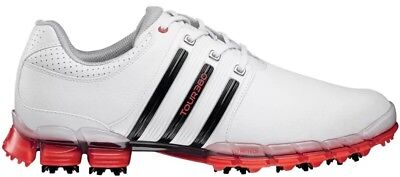 ⛳️new Mens Adidas Tour 360 Atv M1 Golf Shoes 11.5 White Red Black Boost 2.0 006c3aa4c