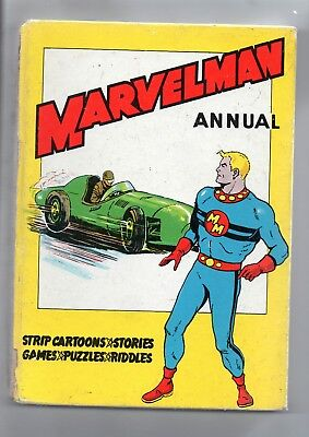 Marvelman Annual / Good+ / L.miller 1960 / Unclipped / Mick Anglo Art.