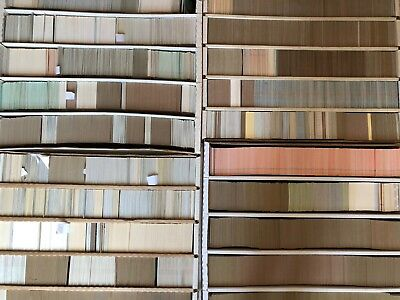 HUGE VINTAGE BASEBALL CARD COLLECTION, 70's BASEBALL CARDS, Large Lot, Nice!