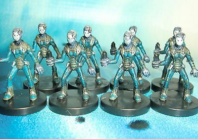 Star Wars Miniatures Lot  Polis Massa Medic x8 !!  s97