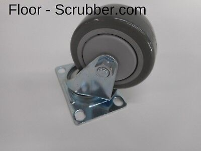 Swivel Caster Wheel Tennant Nobles 606986,103001 For 2001,5200, Floor Scrubber