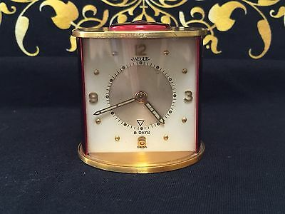 Vintage Jaeger LeCoultre 8 Day Travel Alarm Clock
