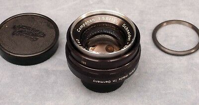 Old School Schneider Componon 135Mm F5.6 Enlarging Lens With Ring - Free Ship