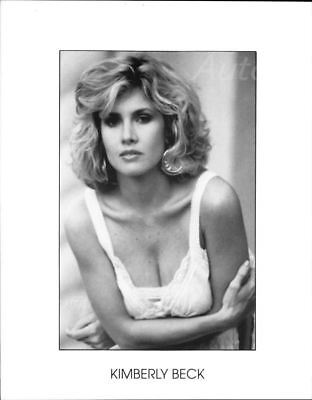 Kimberly Beck 8x10 Headshot W Resume Friday The 13th The Final