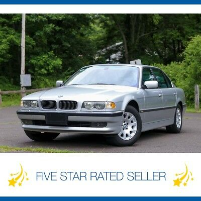BMW 7-Series Long Navigation Video Low 72K Southern Car CARFAX 2001 BMW 740IL Long Navigation Video Low 72K Southern Car Loaded CARFAX