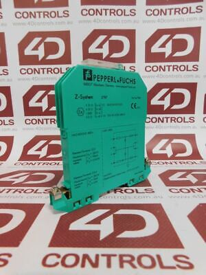 Pepperl + Fuchs Z787 Safety Relay Module - Used