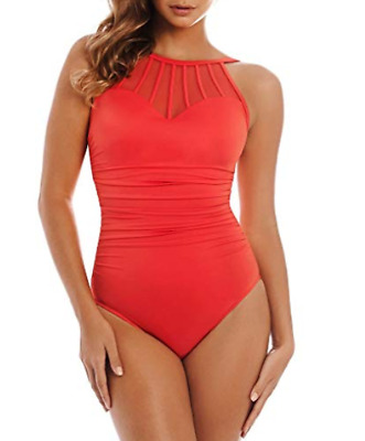 670b7a61746a0 MAGICSUIT DON'T MESH With Me Anastasia Black One Piece Swimsuit NWT ...
