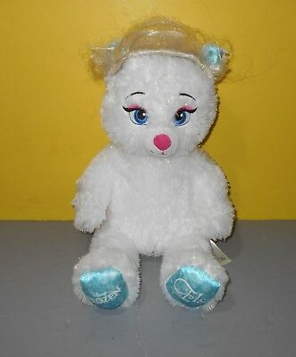 "BABW Build-a-Bear Frozen Elsa Soft Plush Stuffed Animal Doll Toy 16"" w/ Wig"