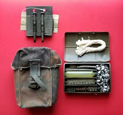 German Military Surplus 1990's - H&K G3 Mag Pouch with G3 Cleaning Kit