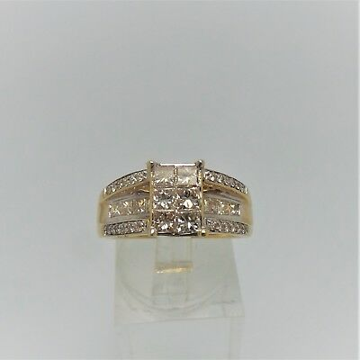 18Ct Yellow Gold 1.2 Ct Diamond Ring Valued @ $3961 Comes With Valuation