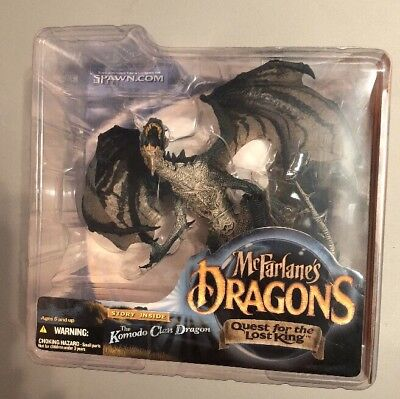 McFarlane's Dragons Quest for the Lost King KOMODO CLAN DRAGON