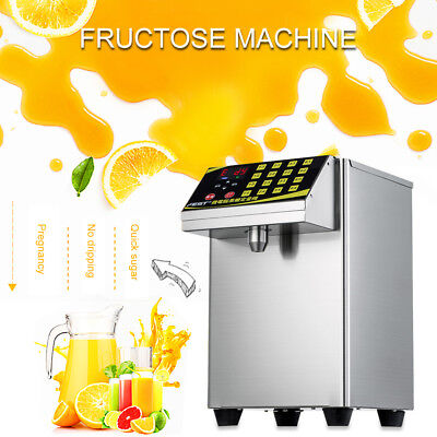 New Bubble Tea Equipment Fructose Quantitative Machine Fructose Dispenser