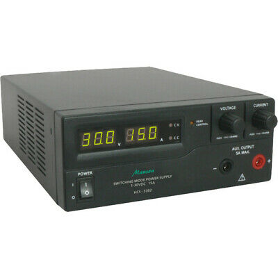 HCS3300-USB MANSON 1-16V 0-30A Power Supply Switching 3 Digi LED W/USB