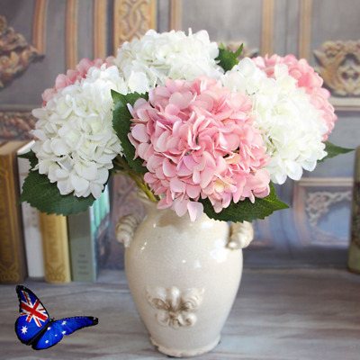 Artificial Silk Flowers French Hydrangea Home table Decorations Fake Bouquet