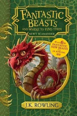 Fantastic Beasts and Where to Find Them by J. K. Rowling New Hardback Book