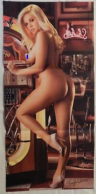 Kayla Collins August 2008 Playboy Centerfold Pin Up Poster