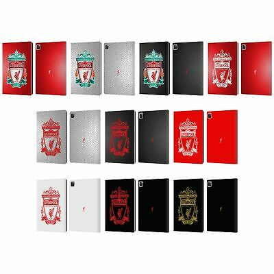 OFFICIAL LIVERPOOL FOOTBALL CLUB CREST 2 PU LEATHER BOOK CASE FOR APPLE iPAD