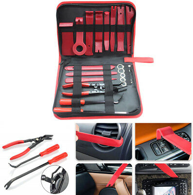 19 Pcs Car Interior Panel Stereo System Dashboard Trim Removal Install Tool Kit