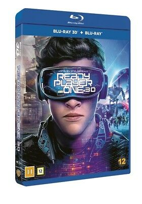 Ready Player One 3D + 2D Blu Ray