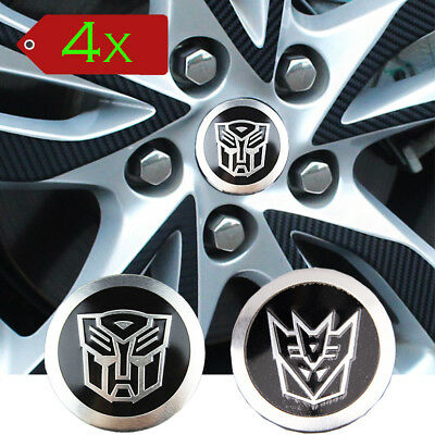 4* Auto Car / Motorcylce Transformer 55MM Logo Emblem Badge Sticker Decal SL