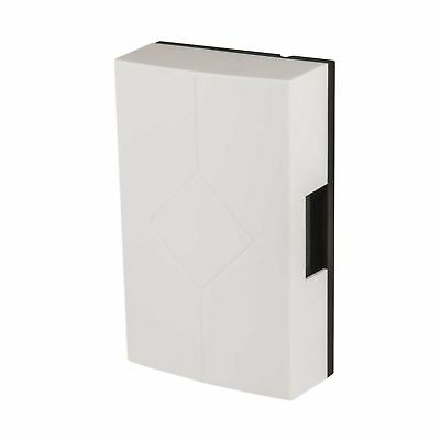 House Office Mechanical Door Bell Chime Hard White Wired Wall Mounted Ding Dong