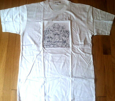 New SAKURA WARS gameboy shirt L Nintendo Sega anime Japan official video game