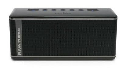 Riva Turbo X Bluetooth Speaker in Black with Carry Case (Brand New Factory Se...