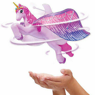 NEW Flutterbye Fairy Pink Flying Unicorn Girls Toy Holiday Gift
