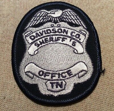 TN Davidson County Tennessee Sheriff Patch