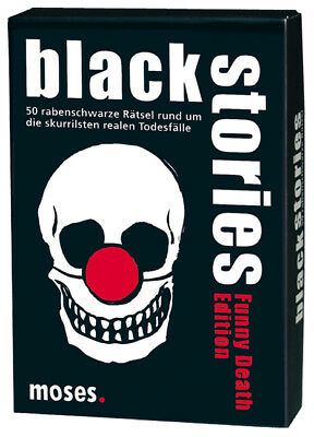 Moses 106173 - black stories - Funny Death Edition Corinna Harder, Jens Sch ...