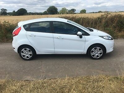 Ford Fiesta 1.4 Tdci Diesel + White + 2010 + Guaranteed Car Finance + Bad Credit