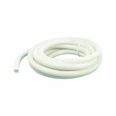 5 Meters 5M 20mm Flexible Conduit Cable Tidy Trunking Tube Tubing White Un split