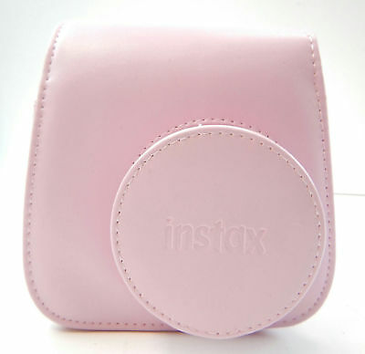 Fujifilm Groovy Camera Case for Instax Mini 8 PINK PU Leather With Box