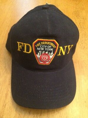 FDNY Fire Department Hat Junior Firefighter, New!