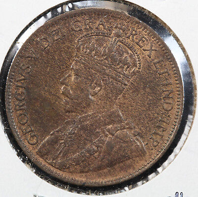 1920 Canada Large Cent MS KM# 21