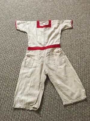 Antique Vintage Child's All In One Suit
