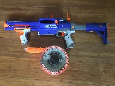 Nerf N-Strike Raider CS-35 Rapid Fire Toy Gun With Dart Drum Mag  And Sight