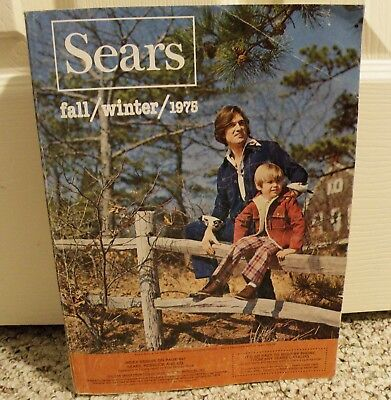 Vintage Big Book  SEARS CATALOG ~ FALL / WINTER 1975 70's Styles 1491 Pages